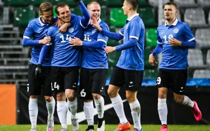 В марте сборная Эстонии по футболу сыграет как в официальном, так и в товарищеском матче.