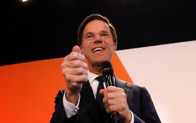Премьер-министр Нидерландов Марк Рютте.