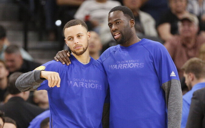 Stephen Curry ja Draymond Green