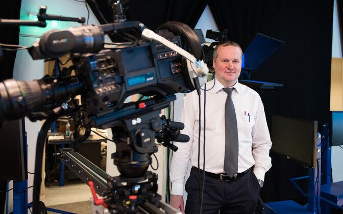 Priit Leito is the head of TV3, one of the channels who will be changing hands.