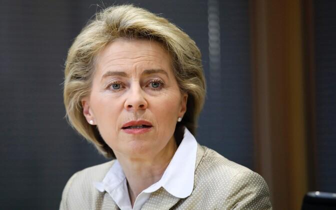 Министр обороны ФРГ Урсула фон дер Ляйен
