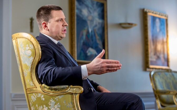 Prime Minister Jüri Ratas is also the chairman of the ruling Center Party.