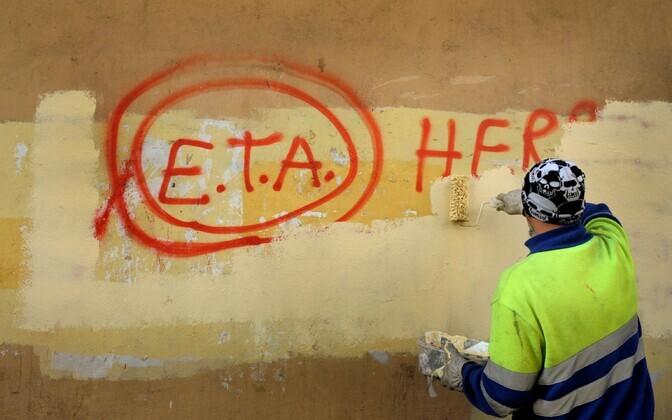 Grafiti Hispaanias.