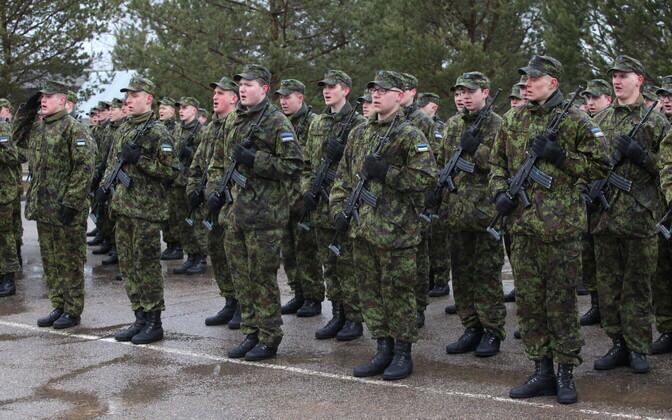 Viru jalaväepataljoni jaanuarikutse truudusetõotus
