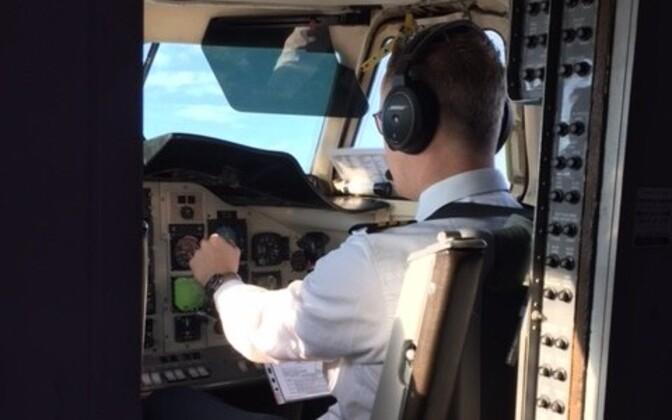 Transviabaltika piloot.