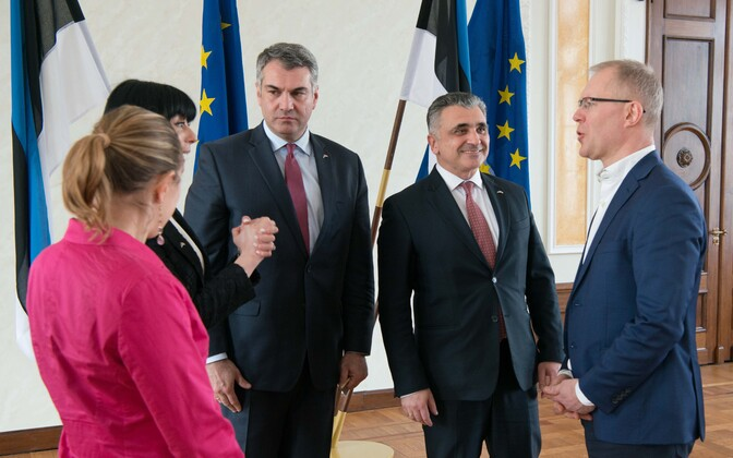 The Riigikogu's meetings with Georgian officials continued on Monday and Tuesday.