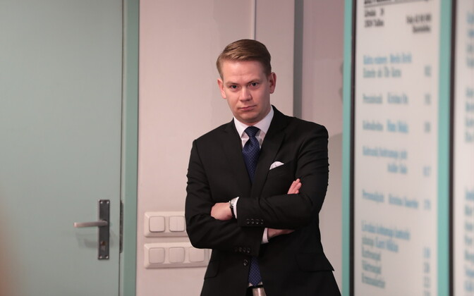 Savisaar's lawyer, Oliver Nääs.
