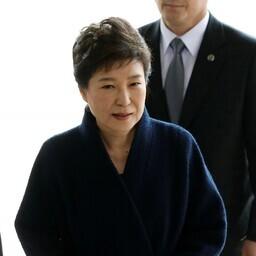 Lõuna-Korea tagandatud president Park Geun-hye.