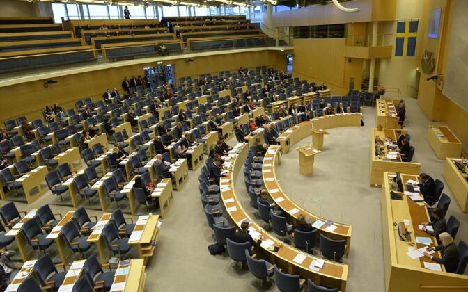 Rootsi parlament ehk Riksdag.
