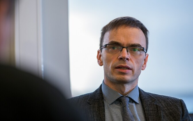 Estonian Minister of Foreign Affairs Sven Mikser.