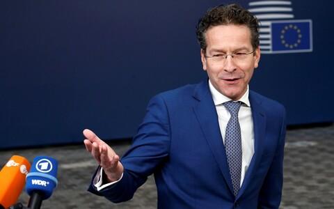 Eurogrupi hollandlasest juht Jeroen Dijsselbloem.