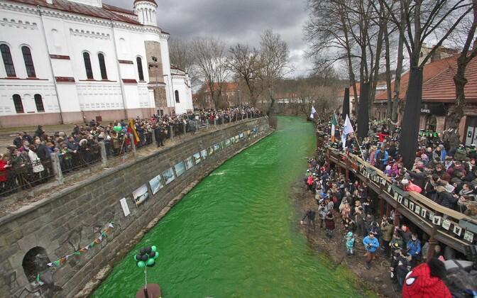 Püha Patricku päev Vilniuses