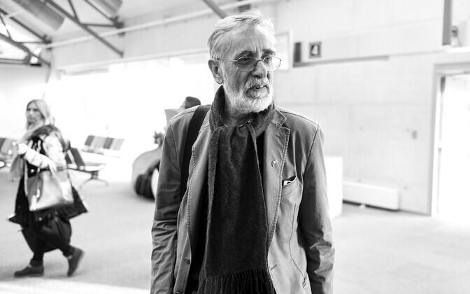 Actor Lembit Ulfsak.