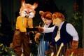 Lastelavastus: Rebase Rein - Lembit Ulfsak, Karuema Kati - Ene Järvis, Karuisa Madis - Ivo Eensalu. 1998 (Foto: ERR/Toomas Tuul)