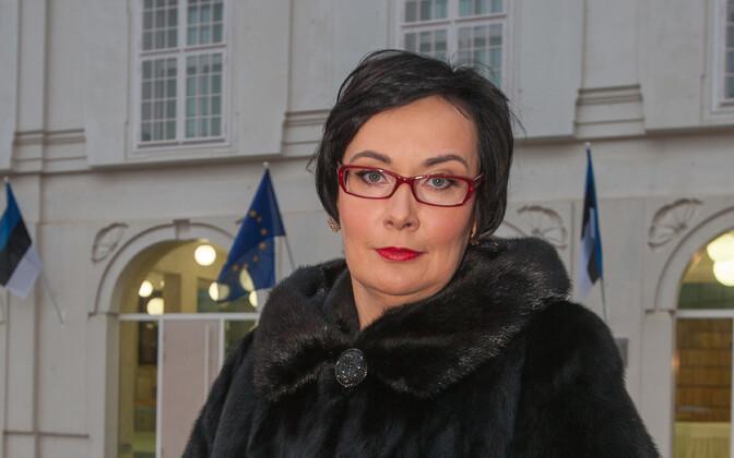 Rector of the Estonian Academy of Security Sciences, Katri Raik.