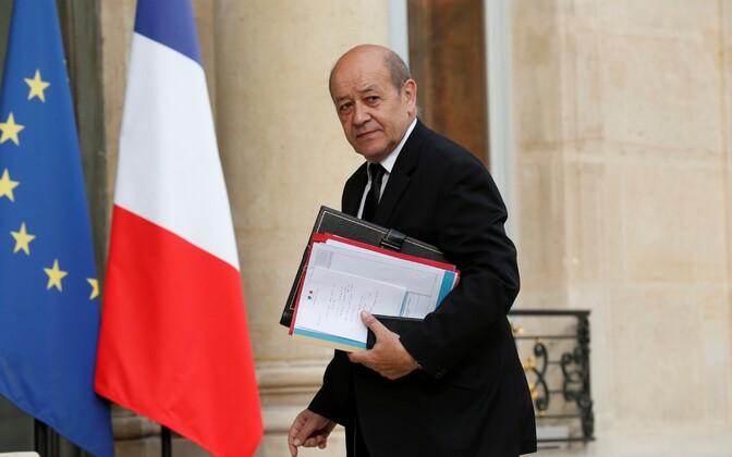 Prantsusmaa kaitseminister Jean-Yves Le Drian.