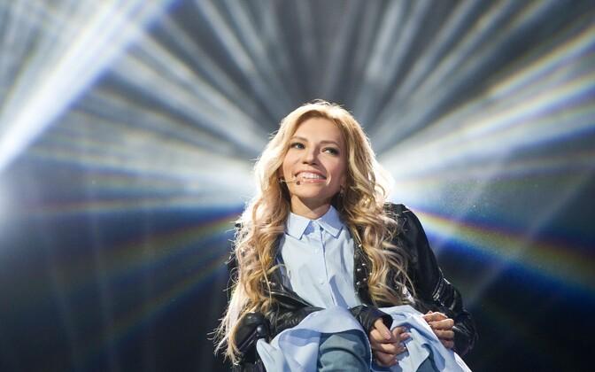 Venemaa eurolauljanna Julia Samoilova.