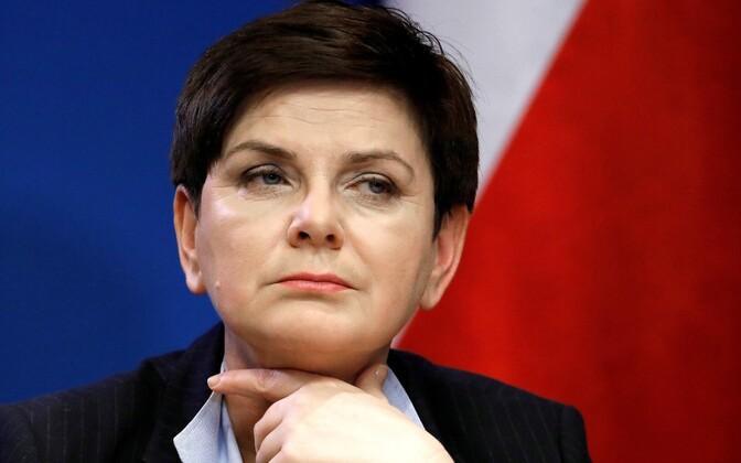 Poola peaminister Beata Szydło.