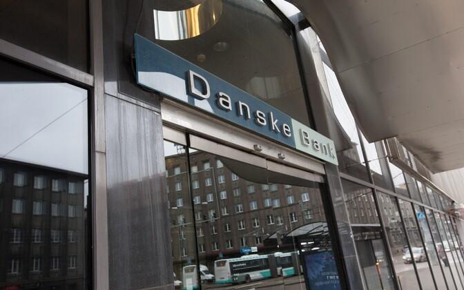 Danske Bank branch office in Tallinn.