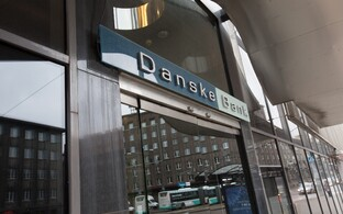 Danske Bank branch office in Tallinn.