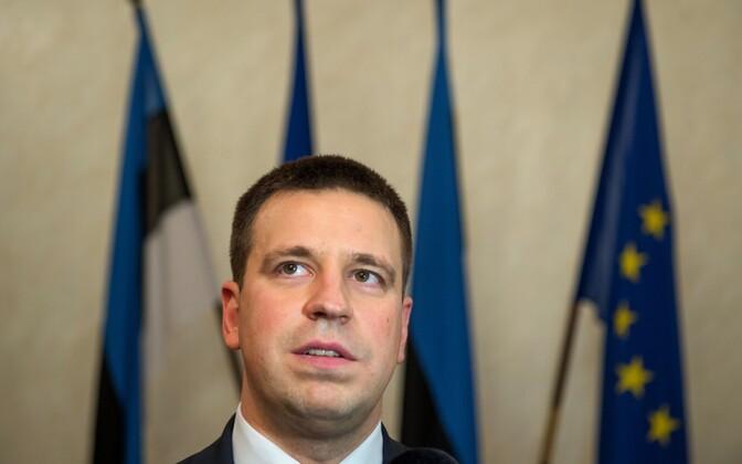 Премьер-министр Эстонии Юри ратас.