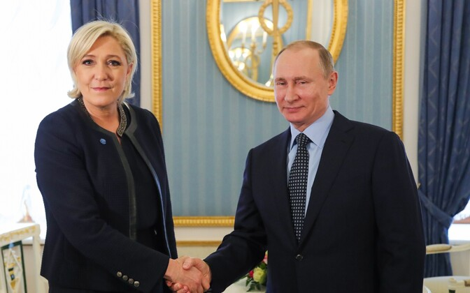 Marine Le Pen 24. märtsil Moskvas.