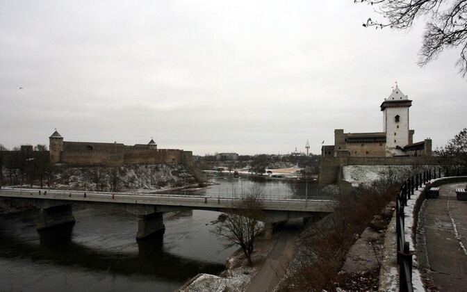 Two new state high schools are to open in Narva (right) in 2021.