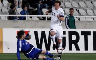 Konstantin Vassiljev mängus Küprosega.