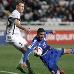 Ragnar Klavan mängus Küprosega.
