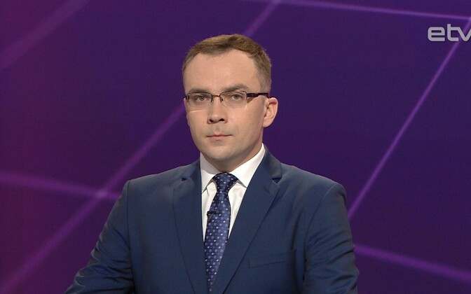 Ведущий Николай Лощин.