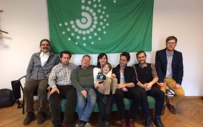 The leadership of the Estonian Greens.
