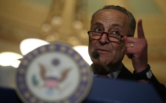Senati demokraatide juht Chuck Schumer.