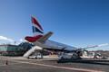 British Airways jet at Tallinn Airport.