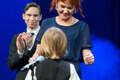 Teatriauhindade gala Ugala teatris, Joonatan Aedmaa ja Marika Palm