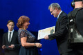 Teatriauhindade gala Ugala teatris, Tonio Tamra ja Niina Mets
