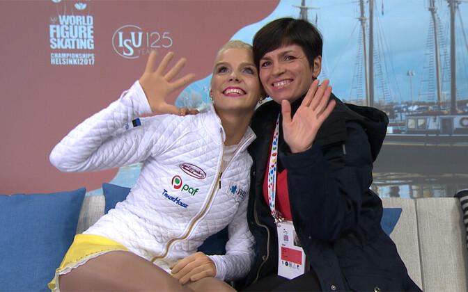 Helery Hälvin ja Anna Levandi.