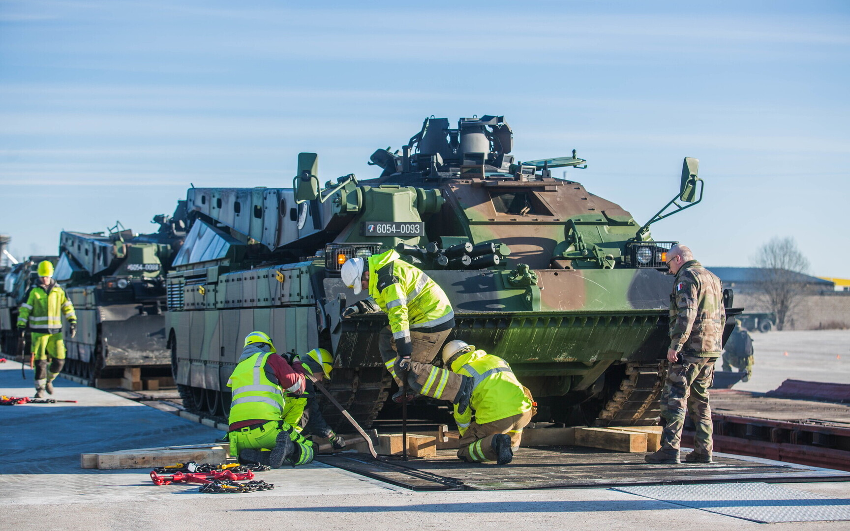 Gallery french tanks arrive in tapa news err for 29 in french