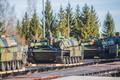 Prantsuse tankid jõudsid Tapa linnakusse.