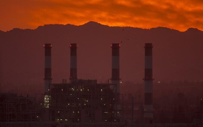 Elektrijaam Californias.