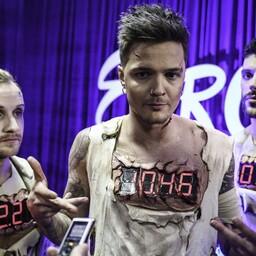 Ukrainat esindab 2017. aastal Eurovisioonil bänd O.Torvald
