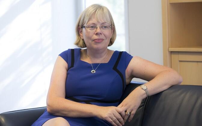The British ambassador to Estonia, Theresa Bubbear.