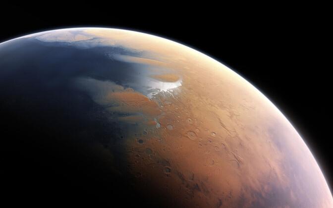 Marss oli kaugemas minevikus vesine.