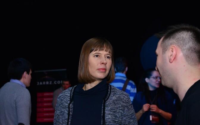 Керсти Кальюлайд на конференции TEDxLasnamäe.