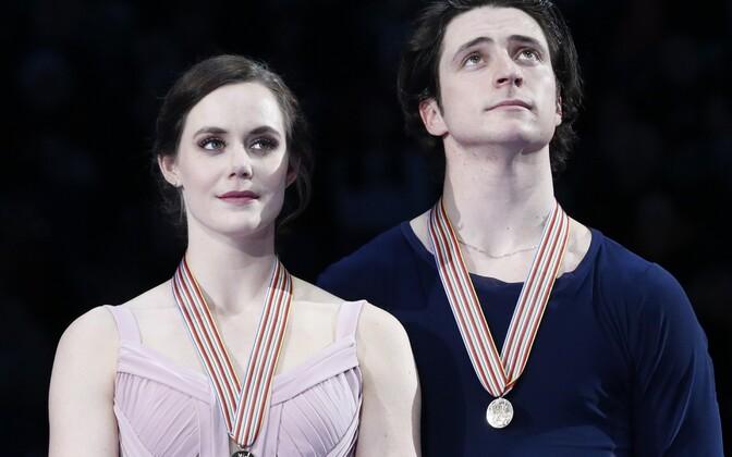 Тесса Вирту и Скотт Моир.