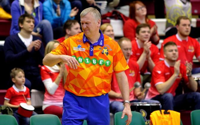 Аво Кеэль возглавил сборную Латвии по волейболу