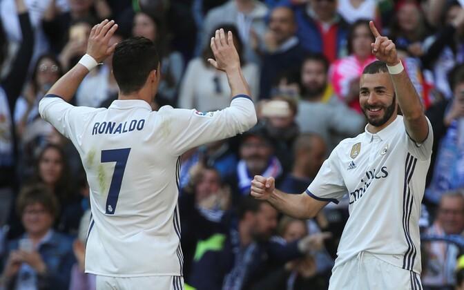Cristiano Ronaldo ja Karim Benzema