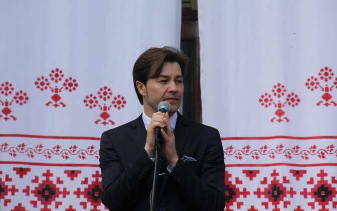 Ukrainian Minister of Culture Yevhen Nyshchuk.