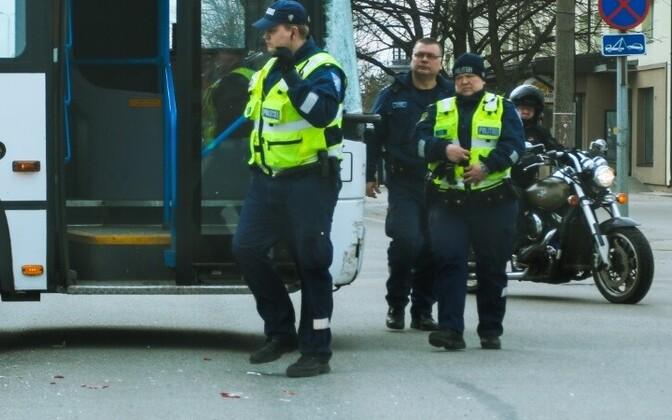 Нападавшего задержали полицейские. Фото иллюстративное.