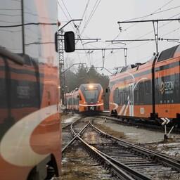 Государство намерено увеличить скорость движения поездов Elron.