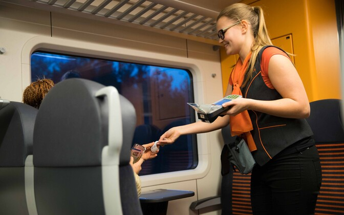In the future, passengers will be able to buy their tickets on board using contactless bank cards.